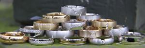 Collectie trouwringen