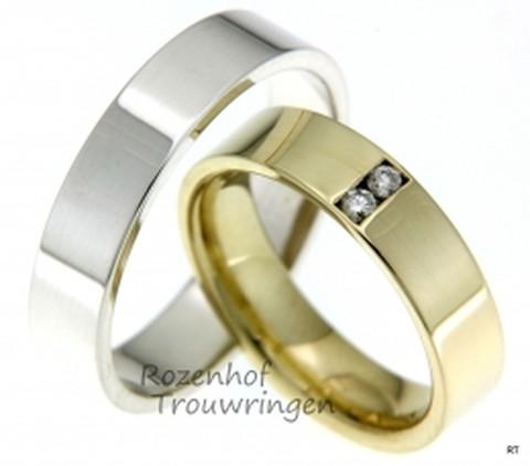 Trendy gouden trouwringen