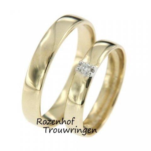 Bent u op zoek naar trouwringen? Ga voor deze mooie bicolor trouwringen. Deze classy ringen zijn perfect voor vele stelletjes!