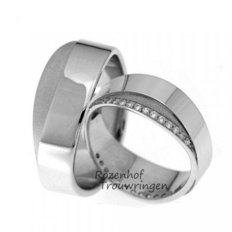 Een juweel van een witgouden ring!