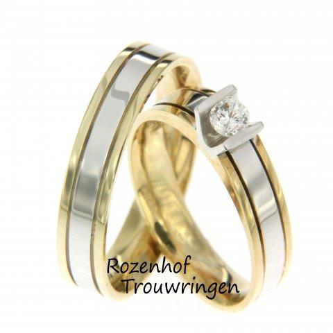 Op zoek naar trouwringen met een luxe uitstraling? Bij Rozenhof Trouwringen kunt u de breedte, kleur en het aantal diamanten aanpassen naar uw wensen & budget.