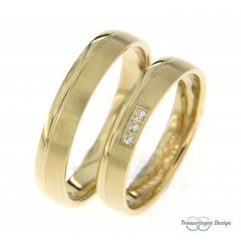 Mooie geelgouden ringen