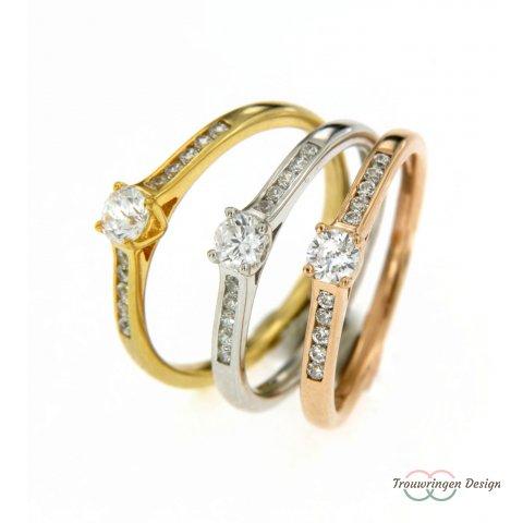 Verlovingsring chic & elegant