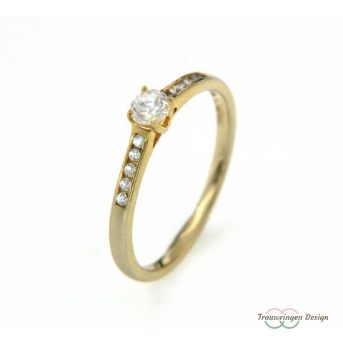 Verlovingsring met diamanten
