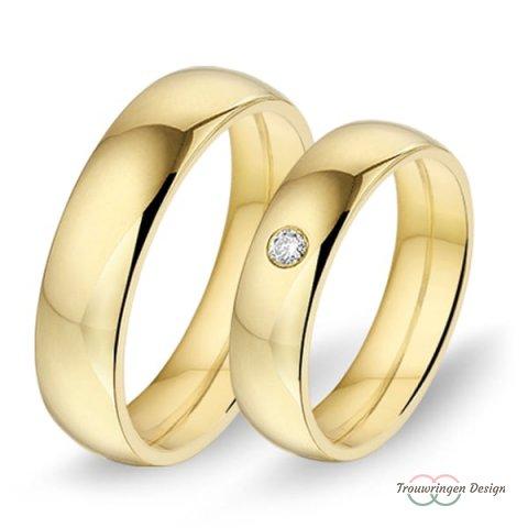 Klassieke trouwringen