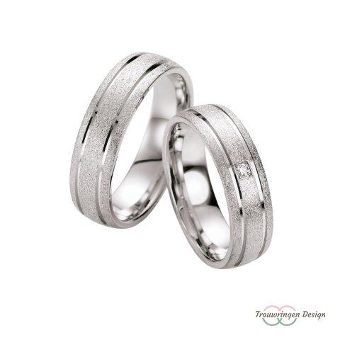 Unieke zilveren trouwringen