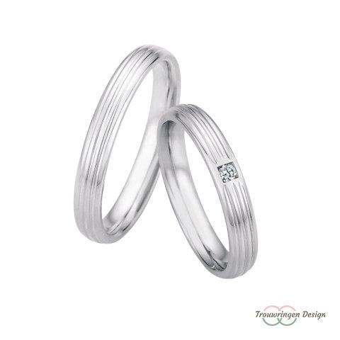 Mooie zilveren trouwringen